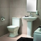 VitrA Serenada Value Suite Close Coupled Toilet 1 Tap Hole Basin