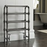 Vogue Arcadia Designer Heated Towel Rail 850mm H x 600mm W Central Heating