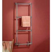 Vogue Ballerina BJ Traditional Heated Towel Rail 1275mm H x 525mm W Dual Fuel