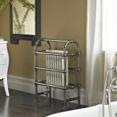 Vogue Baroque Designer Radiator Heated Towel Rail 875mm H x 675mm W Central Heating