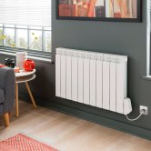 Vogue Eco Electric Radiator 580mm H x 370mm W Electric Only