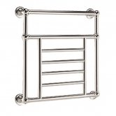 Vogue Elizabeth BJ Designer Heated Towel Rail 740mm H x 825mm W Central Heating