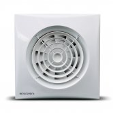 Vogue Silent 100 Standard Electric Fan - White