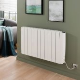 Vogue Stromboli Digital Electric Radiator 580mm H x 470mm W Electric Only