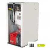 Warmflow Agentis U-SERIES Utility Condensing Conventional Oil Boiler 15-21kW (Inc. pump)