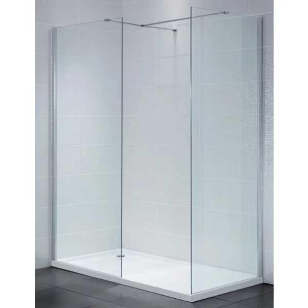 April Identiti2 Wet Room Glass Panel 1000mm Wide 8mm Glass-0