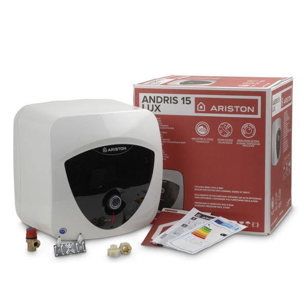 Ariston Andris Lux 10L Over-sink Unvented Electric Water Heater, 3kw
