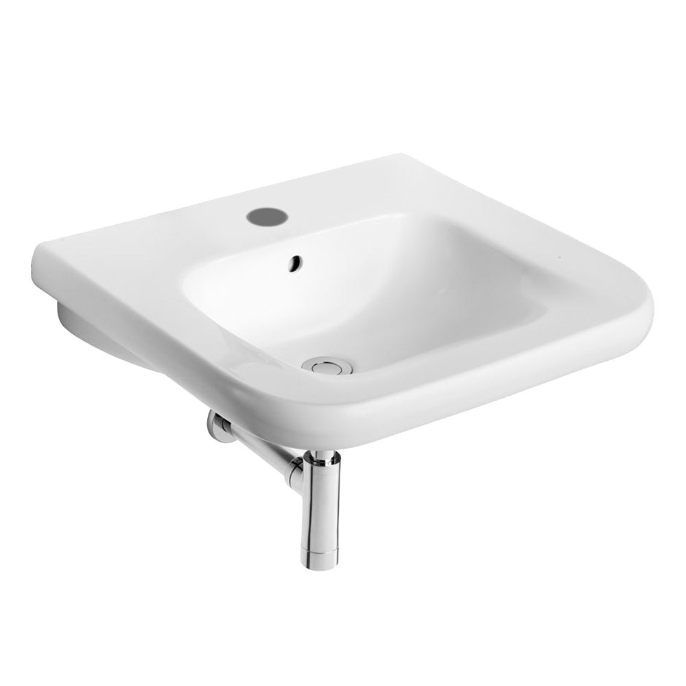 Armitage Shanks Contour 21 Basin with Overflow 550mm Wide - 1 Tap Hole
