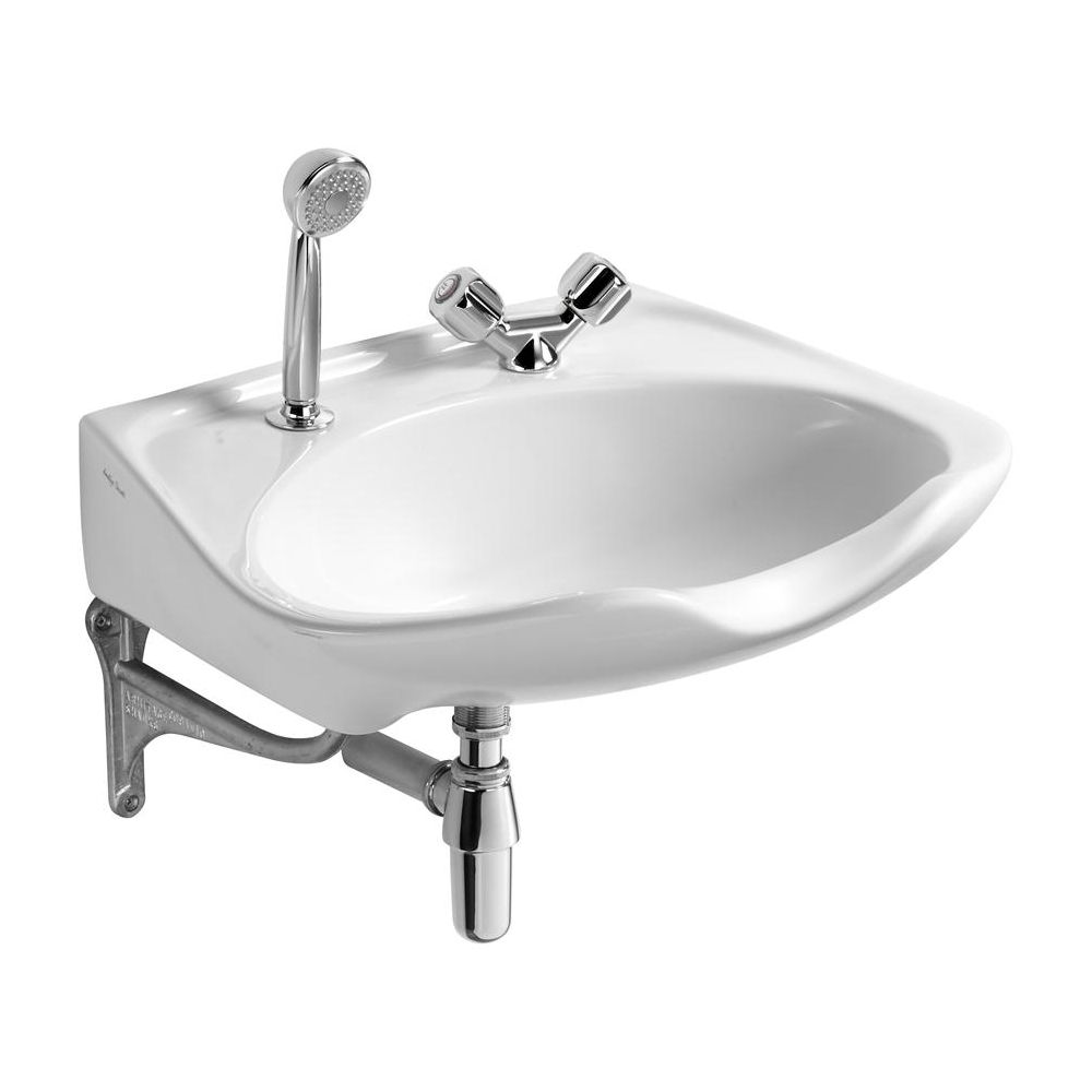 Armitage Shanks Salonex Hairdressers Basin 610mm W - 2 Tap Hole