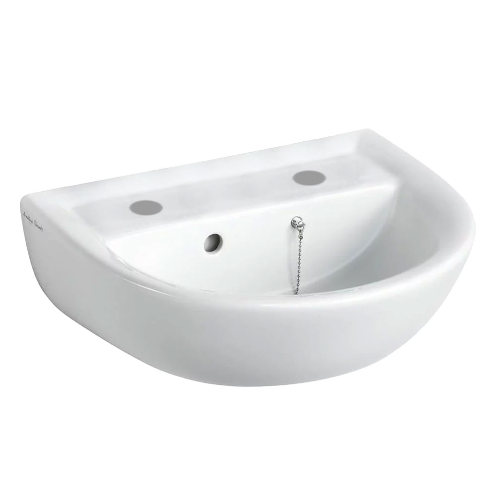 Armitage Shanks Sandringham 21 Wall Hung Basin 450mm Wide 2 Tap Hole