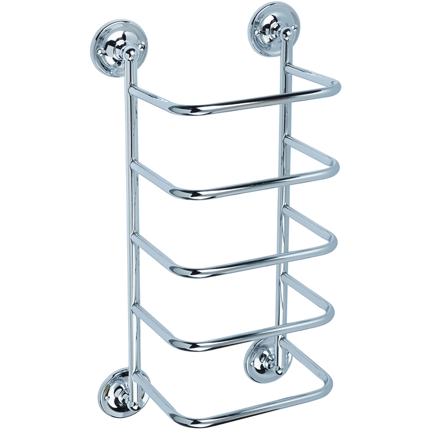 Bristan Bathroom Towel Stacker - Chrome