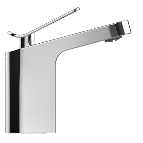 Bristan Alp Mono Basin Mixer Tap Deck Mounted with Clicker Waste - Chrome