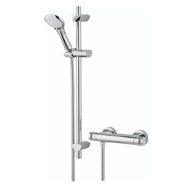 Bristan Artisan FastFit Bar Mixer Shower with Multi Mode Shower Kit