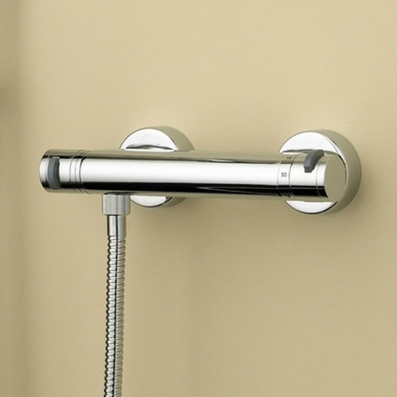 Bristan Artisan FastFit Bar Shower Valve Dual Handle - Chrome