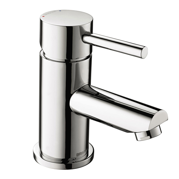 Bristan Blitz Mono Basin Mixer Tap Single Handle with Clicker Waste - Chrome-0