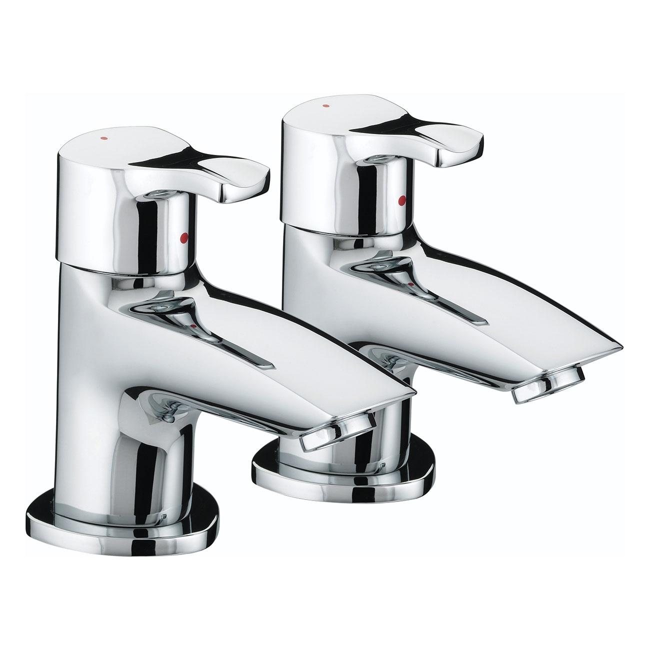 Bristan Capri Bath Taps - Chrome Plated