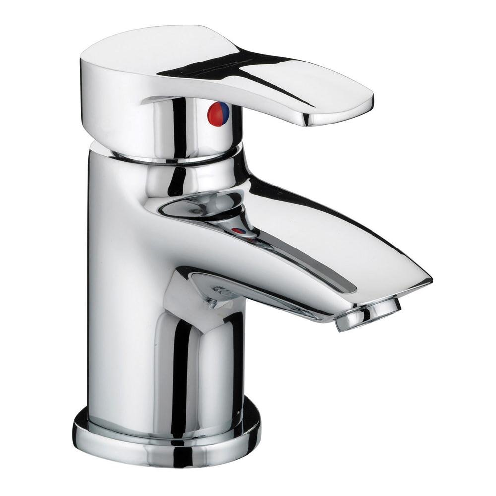 Bristan Capri Basin Mixer Tap with Pop-Up Waste - Chrome-0