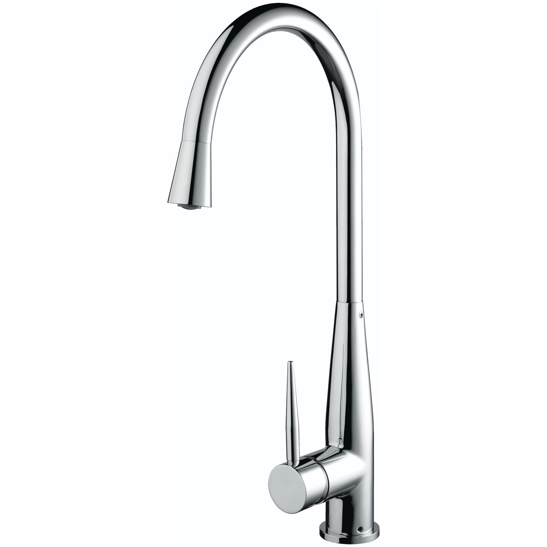 Bristan Champagne EasyFit Mono Kitchen Sink Mixer Tap, Single Handle, Chrome-1
