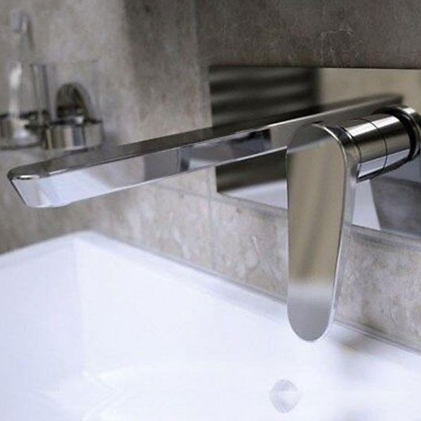 Bristan Claret Wall Mounted Bath Filler Tap - Chrome