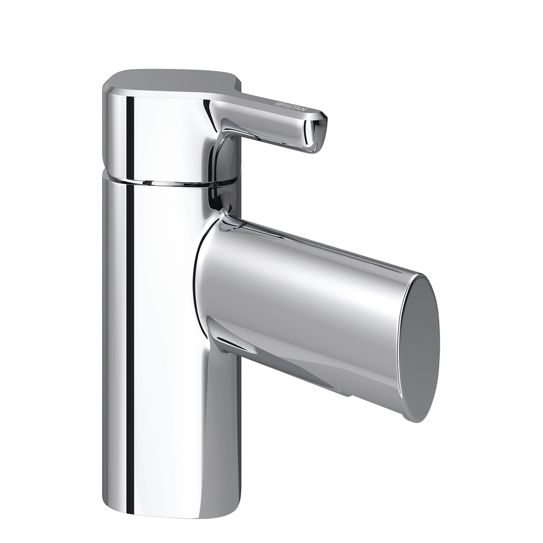 Bristan Flute Mono Bath Filler Tap, Deck Mounted, Chrome