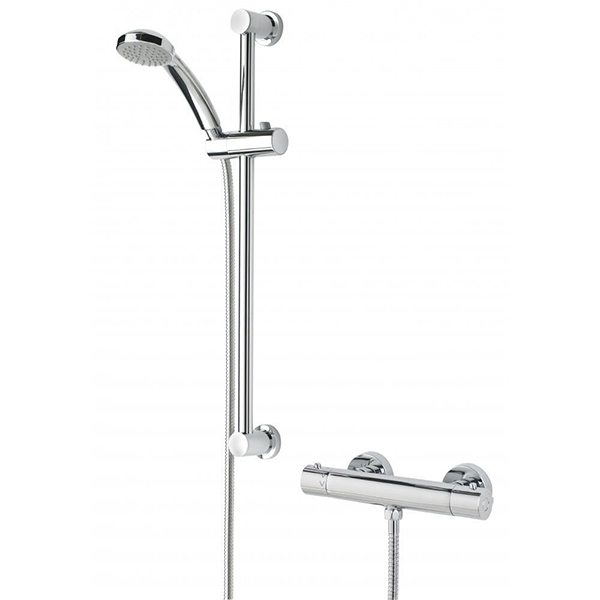 Bristan Frenzy CoolTouch FastFit Bar Mixer Shower with Shower Kit