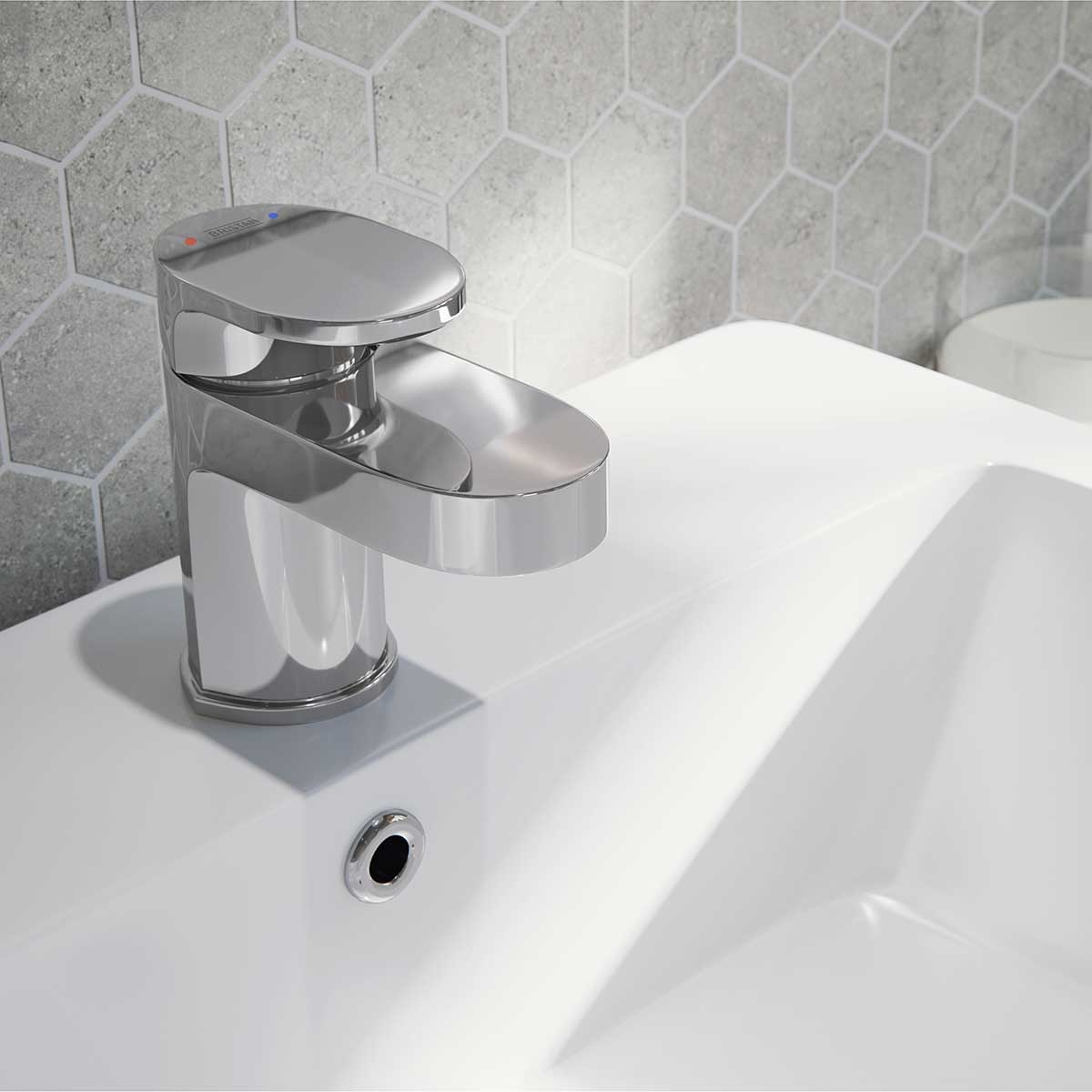 Bristan Frenzy Basin Mixer Tap with Waste - Chrome