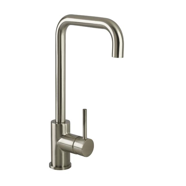 Bristan Lemon Easyfit Kitchen Sink Mixer Tap - Brushed Nickel