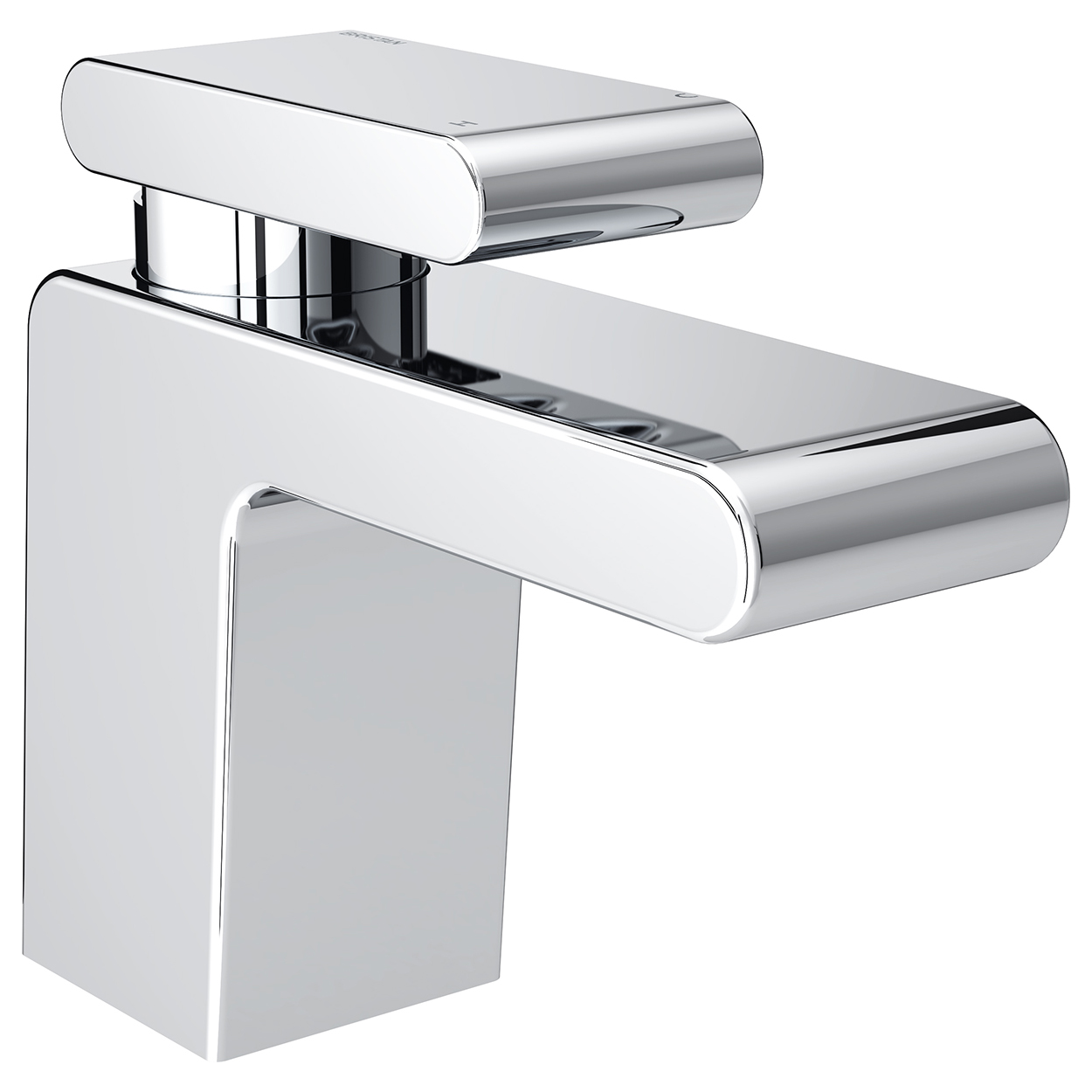 Bristan Pivot Mono Basin Mixer Tap with Clicker Waste - Chrome