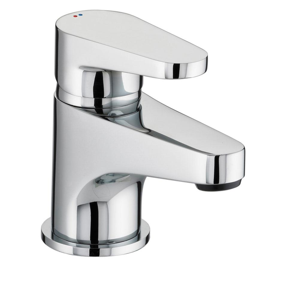 Bristan Quest Basin Mixer Tap with Clicker Waste - Chrome-0