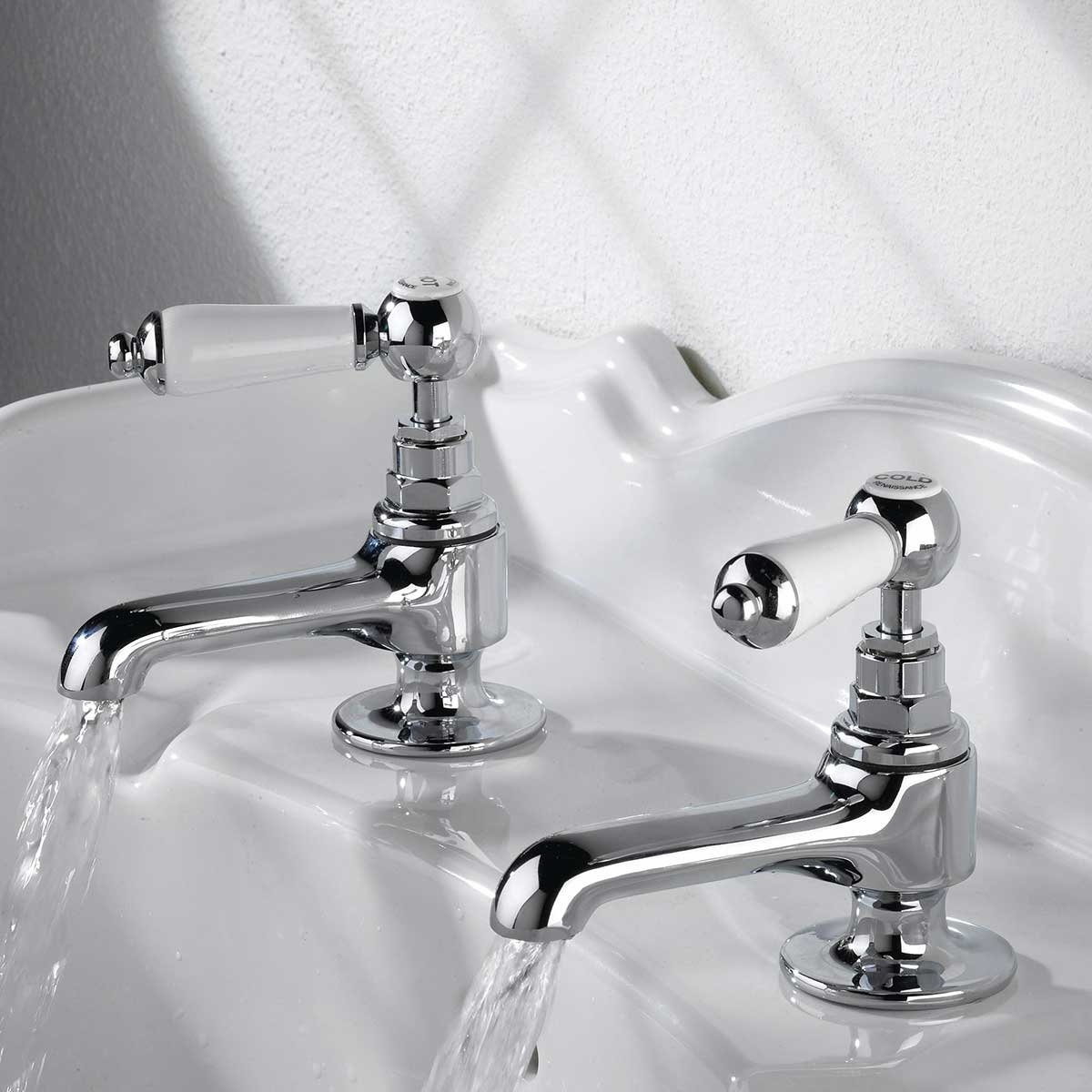 Bristan Renaissance Basin Taps - Chrome Plated