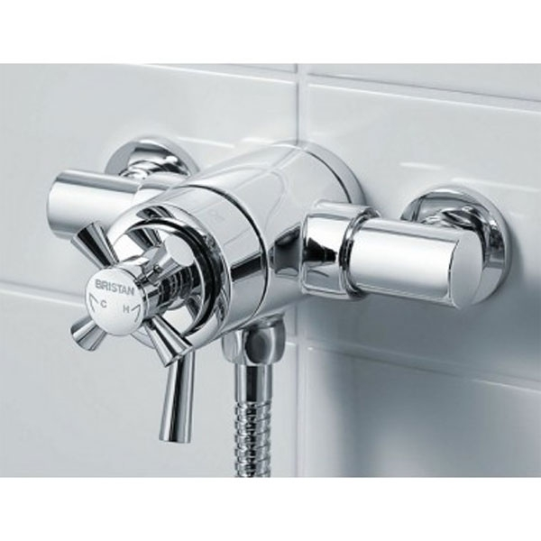 Bristan Rio Dual Exposed Mixer Shower with Shower Kit