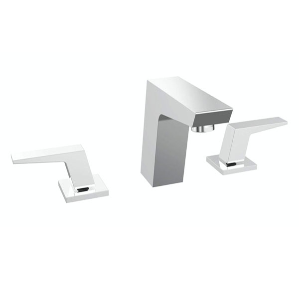 Bristan Sail 3-Hole Basin Mixer Tap, Deck Mounted, Chrome