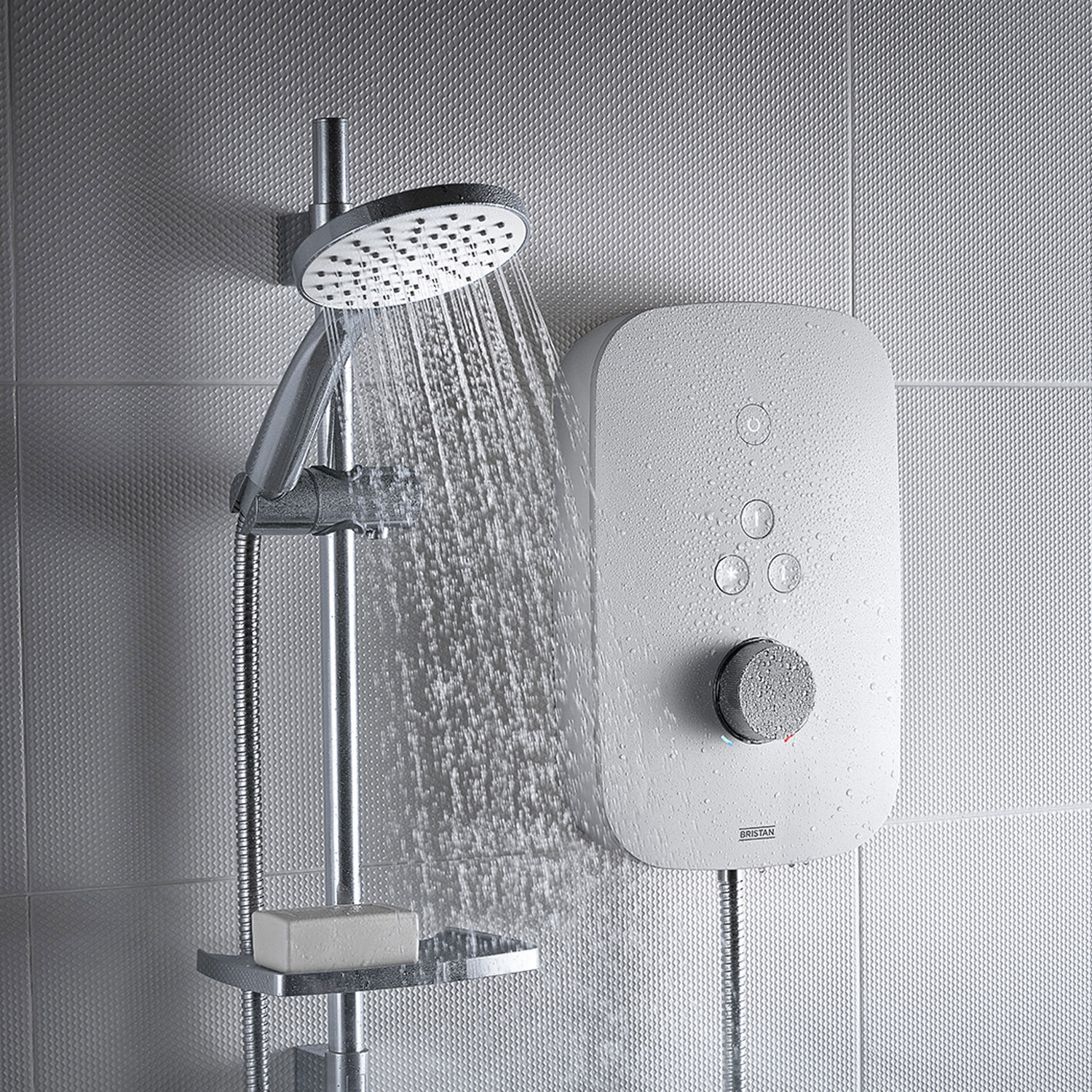 Bristan Solis 10.5kw Electric Shower - White