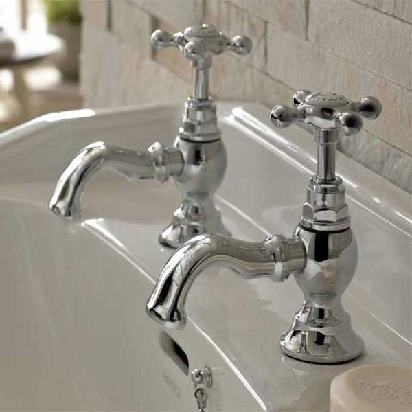 Bristan Trinity Basin Taps - Chrome Plated