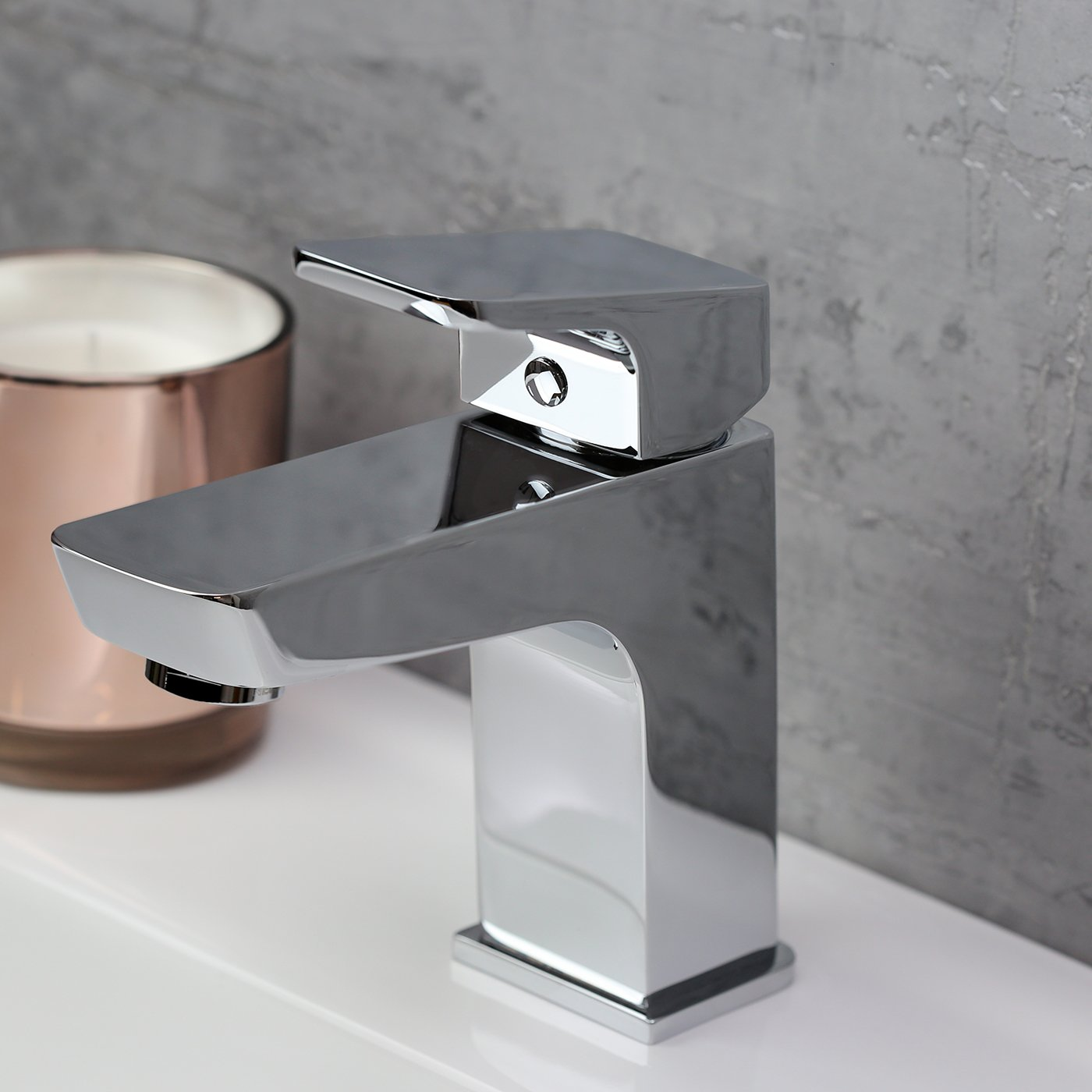 Bristan Vertico Basin Mixer Tap - Chrome
