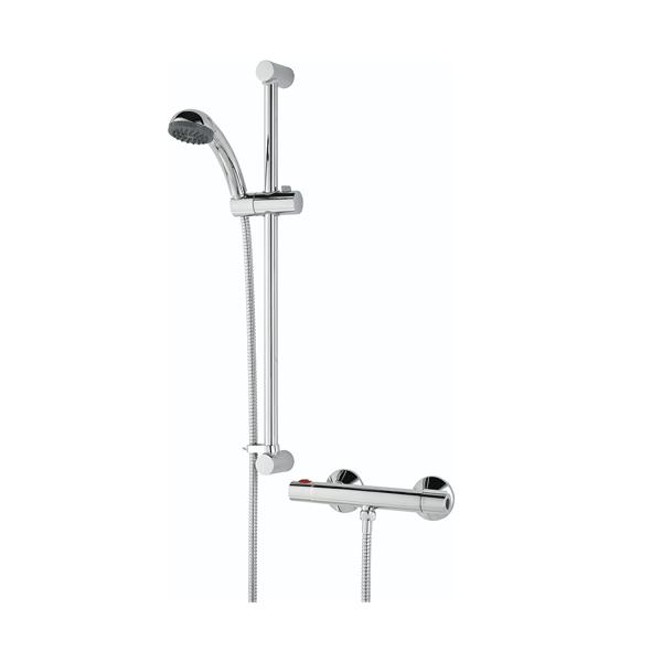 Bristan Zing Cool Touch Bar Mixer Shower with Shower Kit-2
