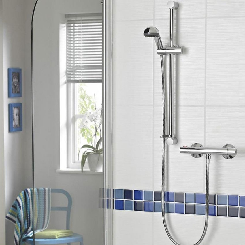 Bristan Zing Cool Touch FastFit Bar Mixer Shower with Shower Kit