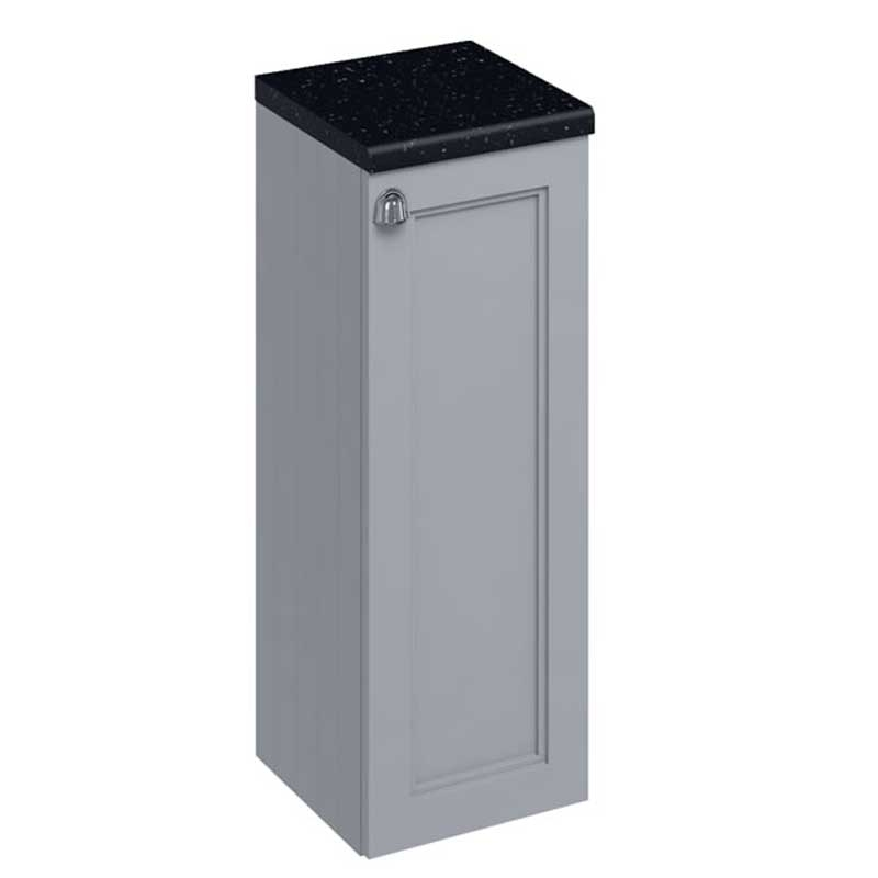 Burlington 30 Fitted 1-Door Base Cabinet Unit 300mm Wide - Classic Grey