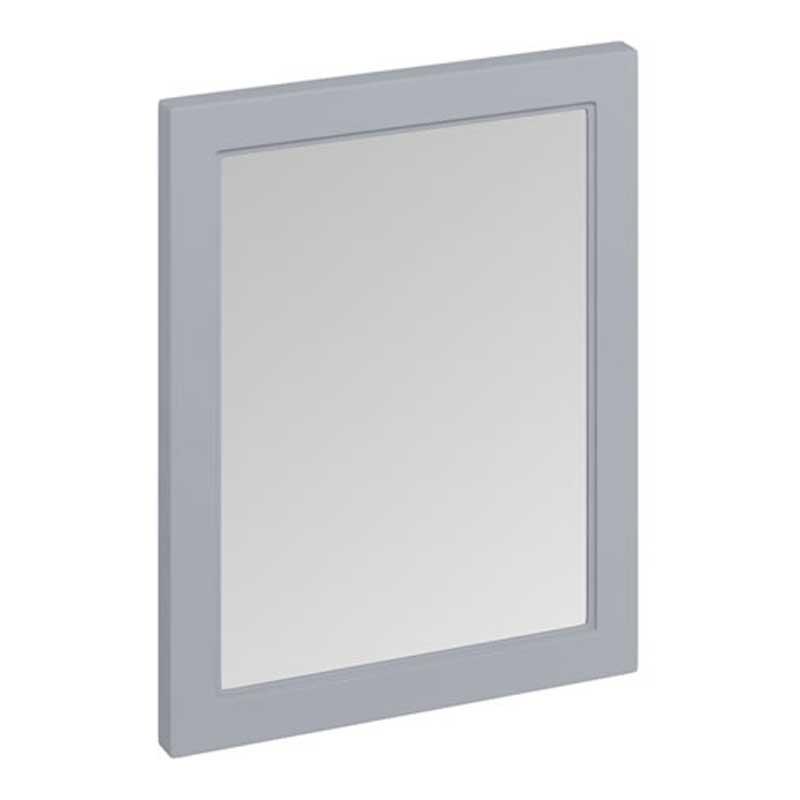 Burlington 60 Fitted Framed Bathroom Mirror 750mm High x 600mm Wide - Classic Grey