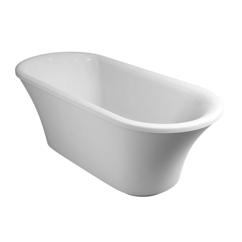 Burlington Complete Bathroom Suite, 1700mm x 750mm Freestanding Bath, White-0