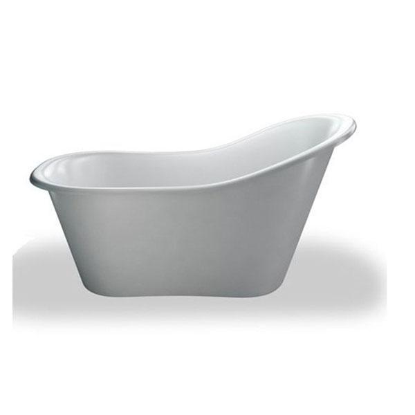 Burlington Complete Bathroom Suite, 1700mm x 740mm Freestanding Bath, White-0