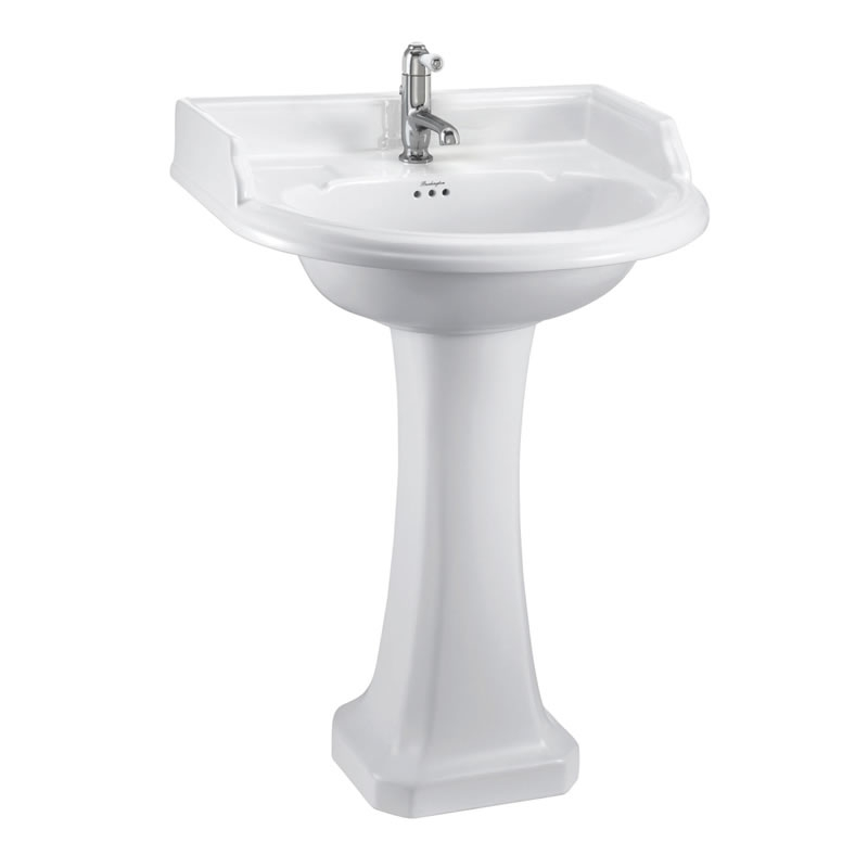 Burlington Bathroom Suite, Standard Close Coupled Toilet, Deep Lever Cistern