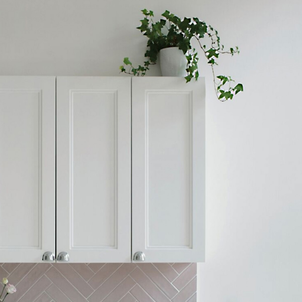 Burlington 30 Fitted 1-Door Wall Cabinet Unit, 300mm Wide, Matt White