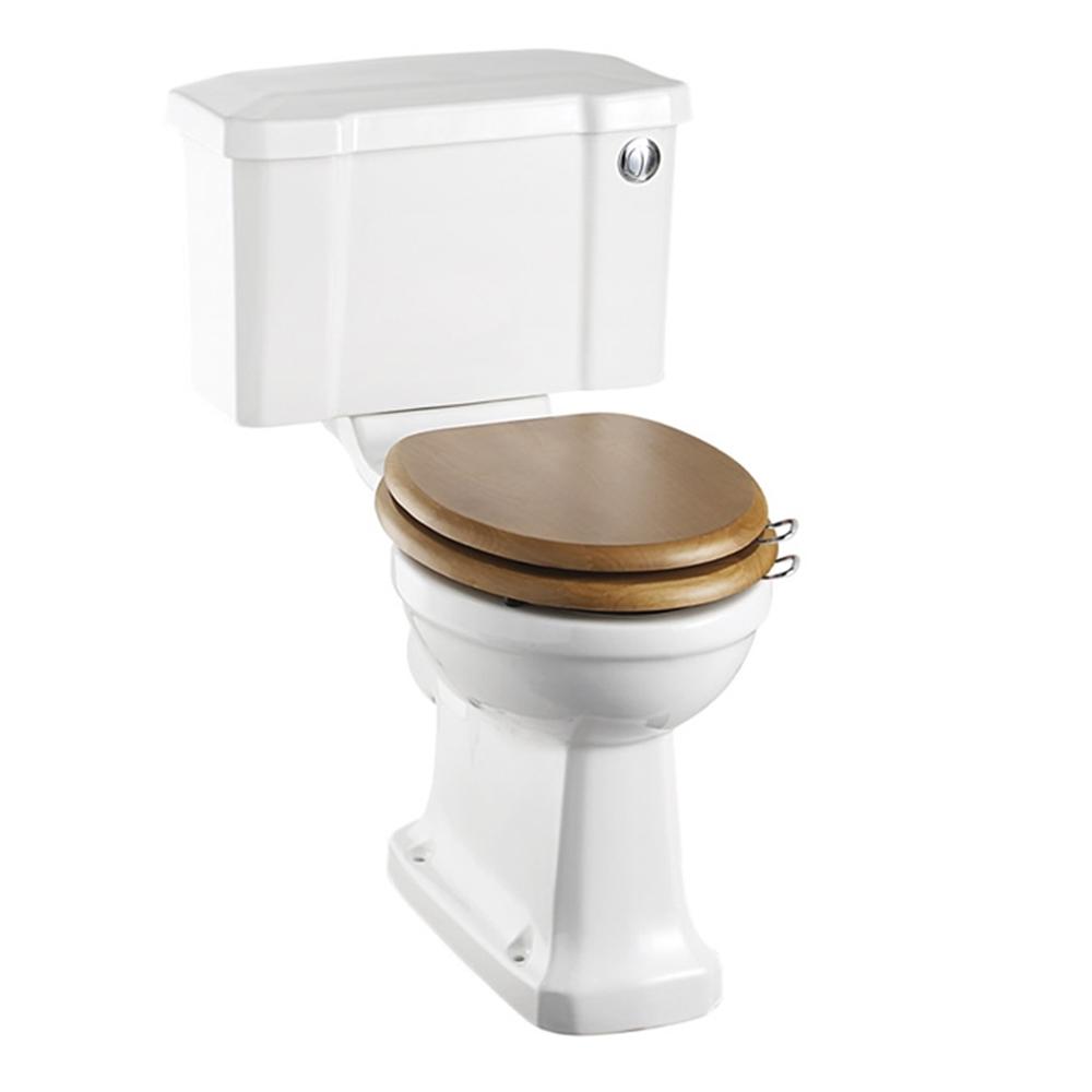 Burlington Furniture Bathroom Suite 1300mm Wide Vanity Unit Matt White - 0 Tap Hole-0