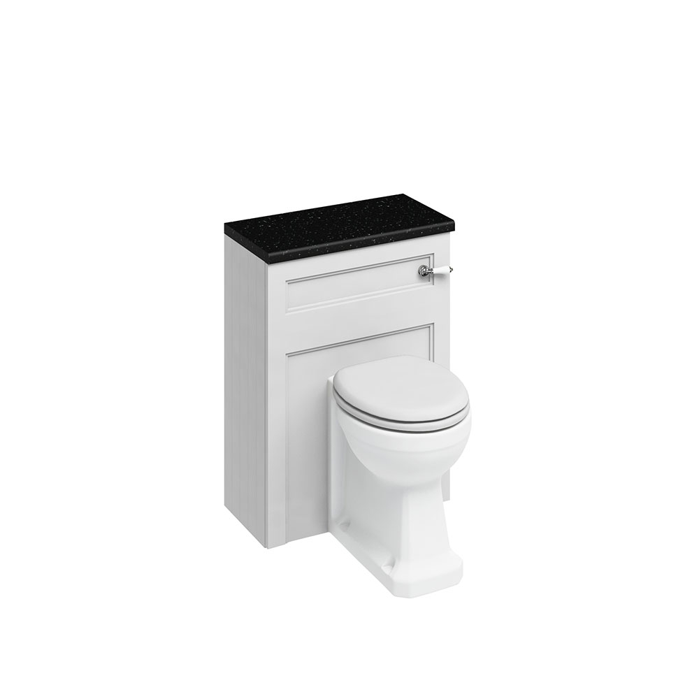 Burlington Furniture Bathroom Suite 670mm Wide Vanity Unit Olive - 0 Tap Hole