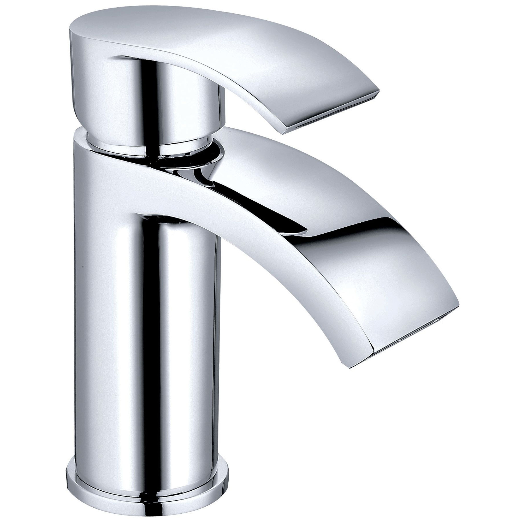 Cali Alia Mono Basin Mixer with Click Clack Waste - Lead Free - Chrome