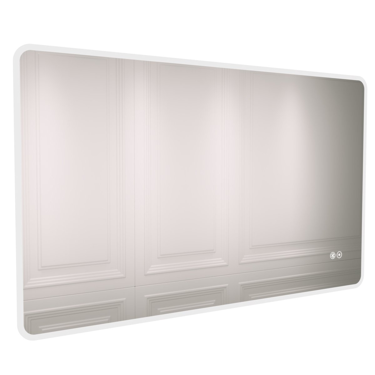 Cali LED Ambient Bathroom Mirror 600mm H x 1000mm W with Bluetooth and De-Mist