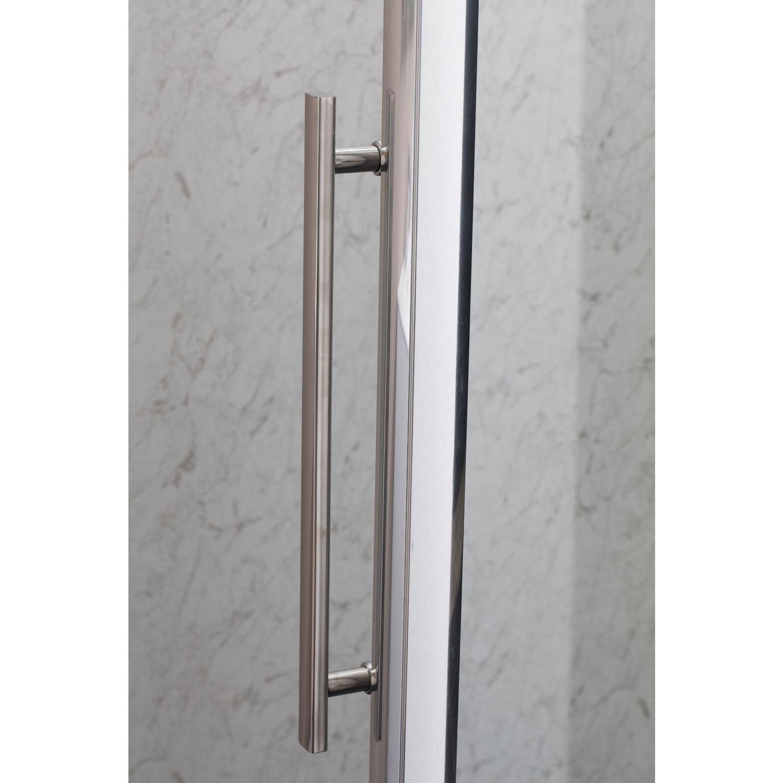 Cali Cass Eight Hinged Shower Door 700mm Wide - 8mm Glass-0