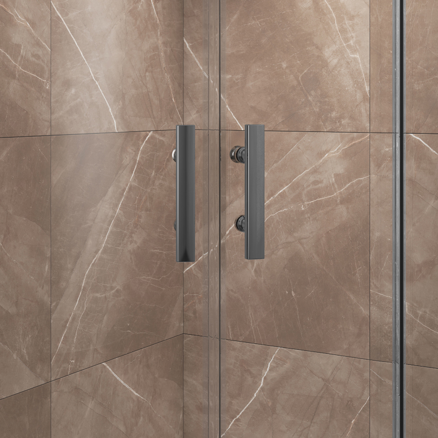Cali Cass Six Quadrant Shower Enclosure 800mm x 800mm - 6mm Glass