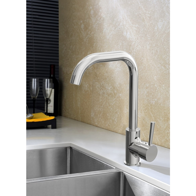 Cali Classic Mono Kitchen Tap - Chrome